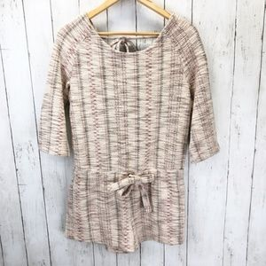 Free People Boho Tweed Romper Sz S